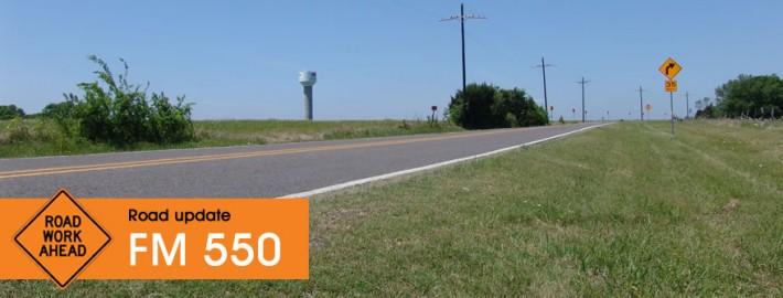 Road Update FM 550