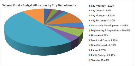2013 Budget Allocation