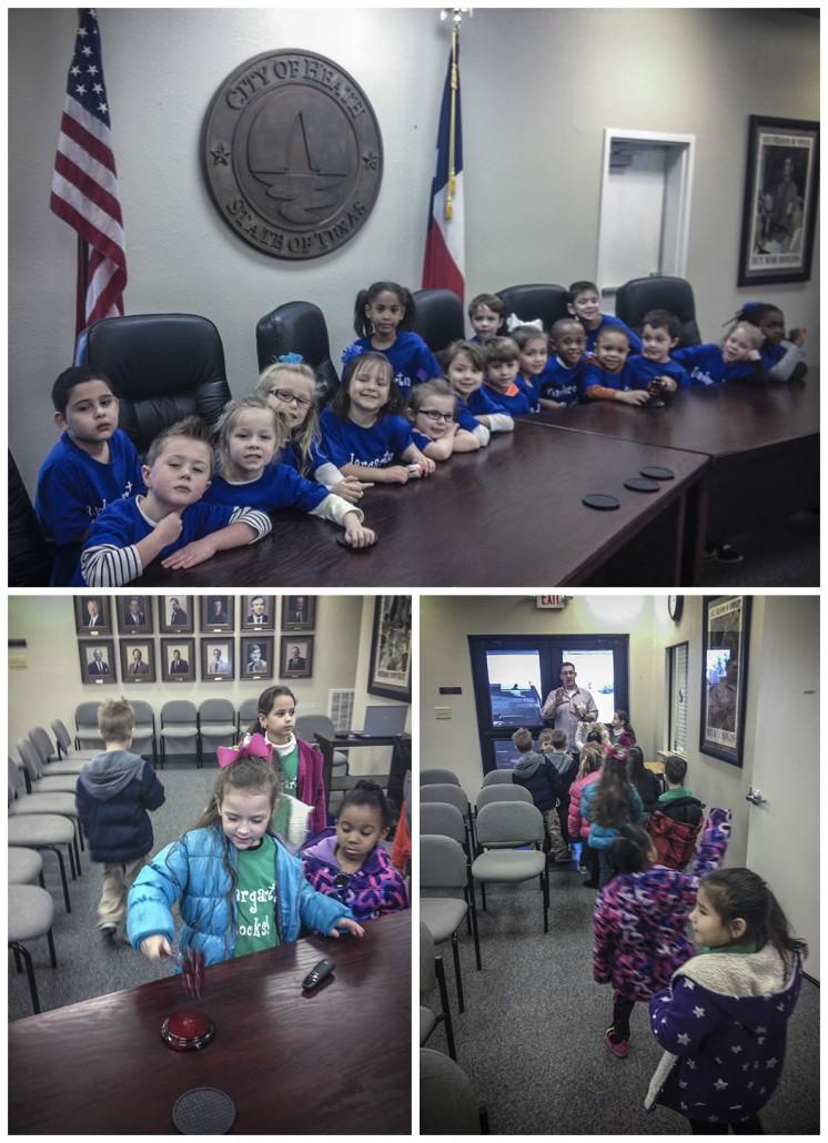 Springer Elementary Visit City Hall