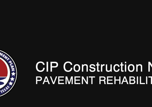 CIP Construction Notice
