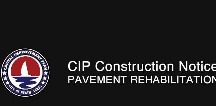 CIP Construction Notice