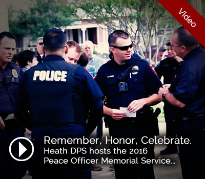 Peace Officers Memorial Day 2016