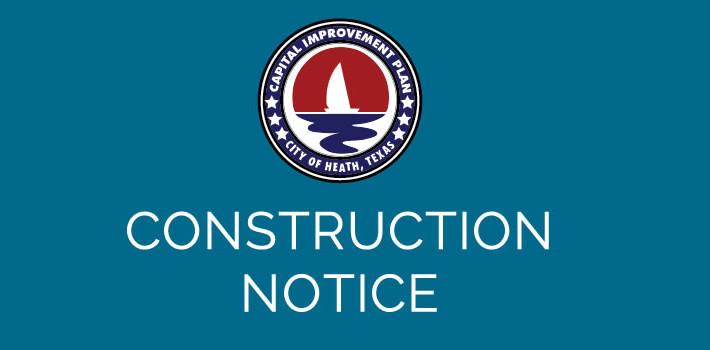 CIP Construction Notice 2015