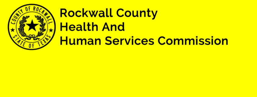 Announcement from Rockwall County Health and Human ...