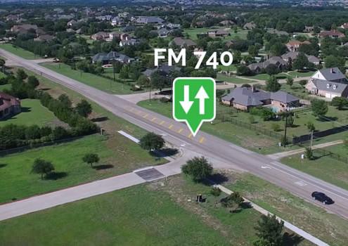 TxDot Update FM 740
